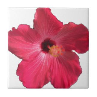 Pink Hibiscus Flower 201711e Ceramic Tile