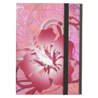 Pink Hibiscus iPad Air Cover