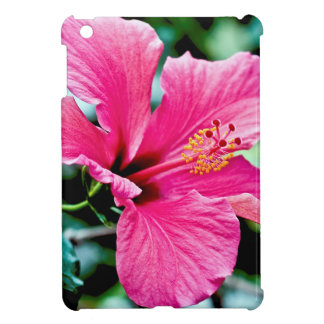 Pink Hibiskus Cover For The iPad Mini
