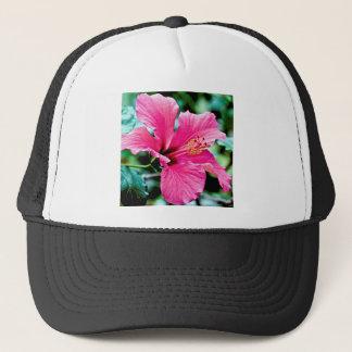 Pink Hibiskus Trucker Hat