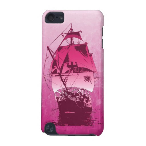 Pink Historical Ship iPod Touch (5th Generation) Covers