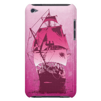 Pink Historical Ship iPod Touch Cases