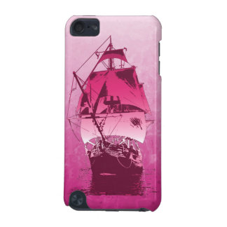 Pink Historical Ship iPod Touch 5G Covers