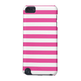 Pink Horizontal Stripes iPod Touch (5th Generation) Cases