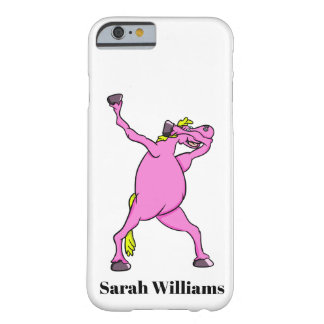 Pink Horse Dabbing Barely There iPhone 6 Case