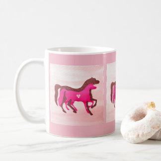 Pink Horse Mug