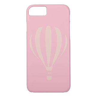 Pink Hot Air Balloon iPhone 7 Case