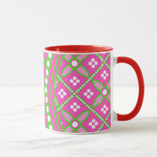 Pink Hourglass Design Multi products selected Mug