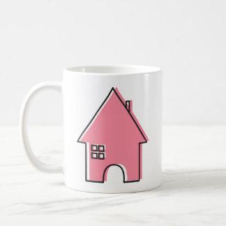 Pink House coffee mug