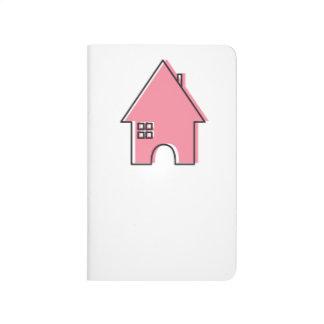 Pink House customizable ladies Realtor journal