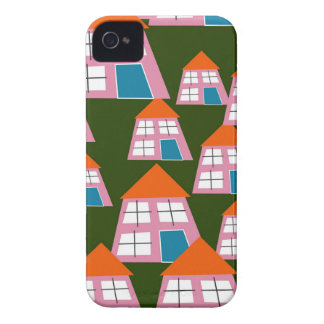 Pink Houses iPhone 4 Case