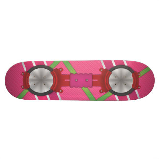 Pink Hover Board JUST A GRAPHIC Skate Board Decks