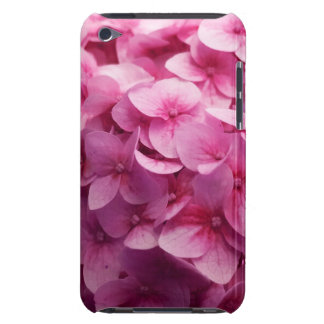 Pink Hydrangea bloom closeup flower photograph. Barely There iPod Cover