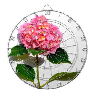 Pink Hydrangea Dart Boards