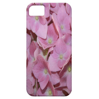 Pink Hydrangea Flower Barely There iPhone 5 Case
