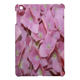 Pink Hydrangea Flower Cover For The iPad Mini