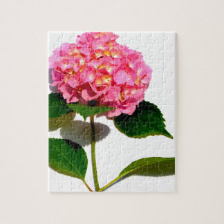 Pink Hydrangea Jigsaw Puzzle