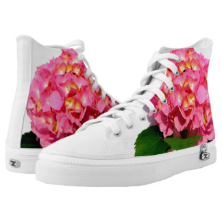 Pink Hydrangeas High Tops
