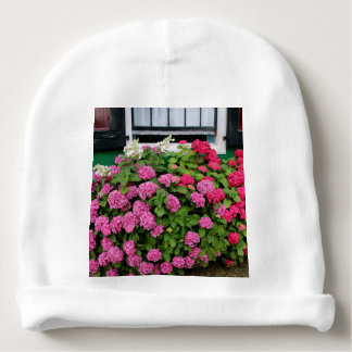 Pink hydrangeas, Holland Baby Beanie