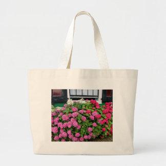 Pink hydrangeas, Holland Large Tote Bag
