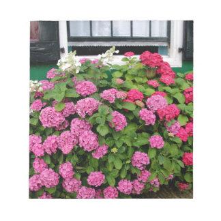 Pink hydrangeas, Holland Notepad