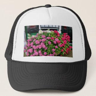 Pink hydrangeas, Holland Trucker Hat