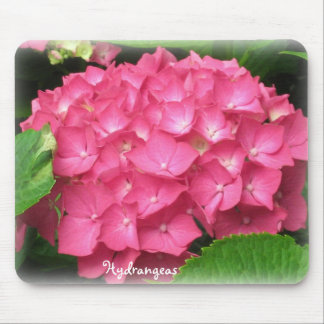 Pink Hydrangeas Mouse Pad