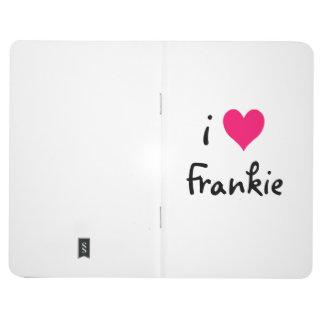 Pink I Love Frankie Journals