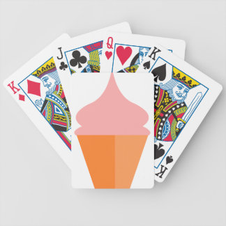 Pink Ice Cream Bicycle Playing Cards