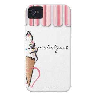 Pink Ice Cream iPhone 4 Case