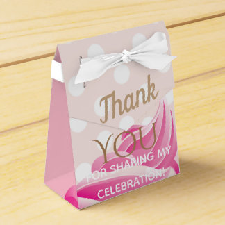 Pink Ice Cream cone Party Favour Box