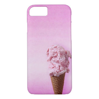 Pink Ice Cream - Fun - iPhone 7 iPhone 7 Case