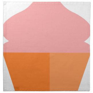 Pink Ice Cream Napkin