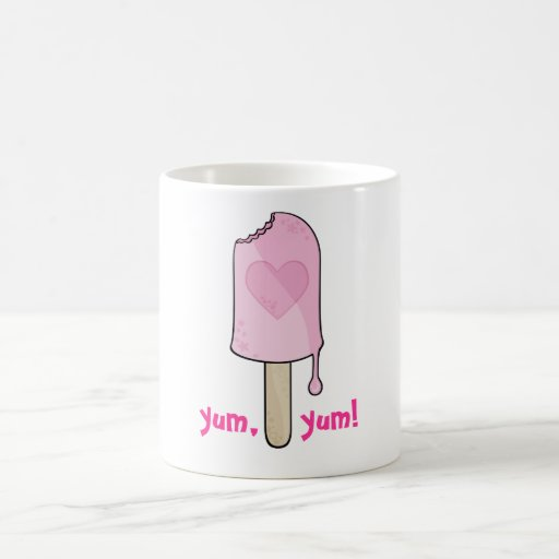 Pink Ice cream, yum,    yum! Mug