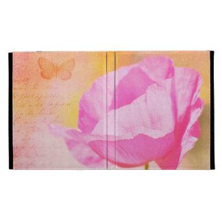 Pink Iceland Poppy iPad Cases