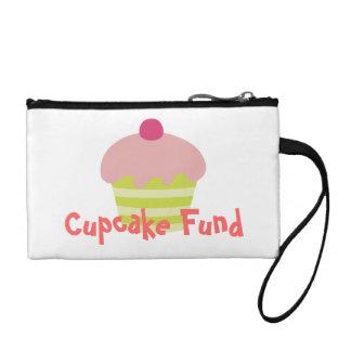 Pink icing Cupcake Coin Wallet