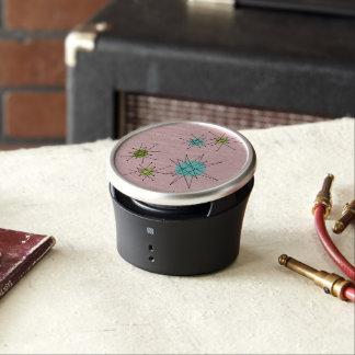 Pink Iconic Atomic Starbursts  Bumpster Speaker