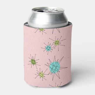 Pink Iconic Atomic Starbursts Can Cooler