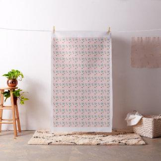 Pink Iconic Atomic Starbursts Fabric