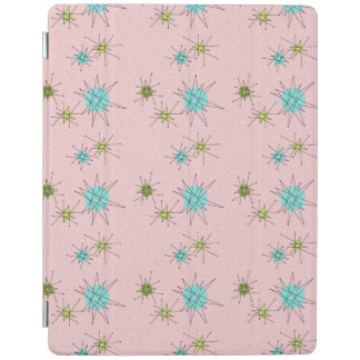 Pink Iconic Atomic Starbursts iPad Smart Cover iPad Cover