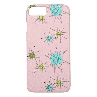 Pink Iconic Atomic Starbursts iPhone / iPad Case