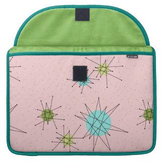 Pink Iconic Atomic Starbursts MacBook Sleeve Sleeves For MacBook Pro