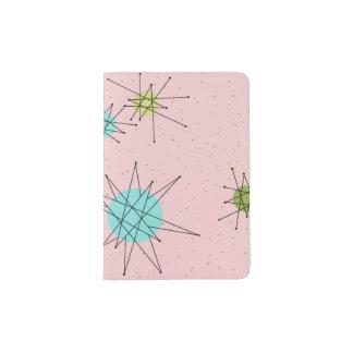 Pink Iconic Atomic Starbursts Passport Holder