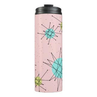 Pink Iconic Atomic Starbursts Thermal Tumbler