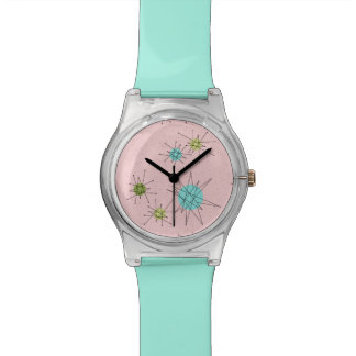 Pink Iconic Atomic Starbursts Watch
