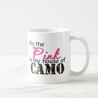 Pink In My House Of Camo Coffee Mug