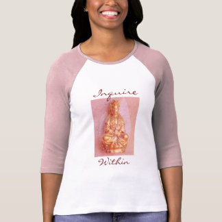 Pink Inquire Within t-shirt