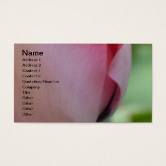 Pink Inspiration Business Card