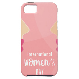 pink international womens day case for the iPhone 5
