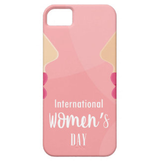 pink international womens day iPhone 5 case